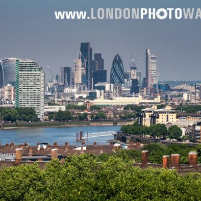 View of London from Greenwich London Photo Walks