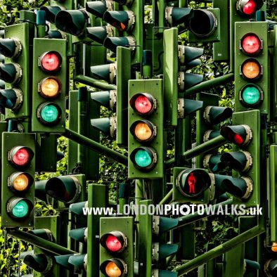 Traffic Lights Tree Billingsgate London Photo Walks