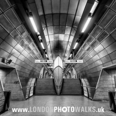 Southwark Tube Station London Photo Walks
