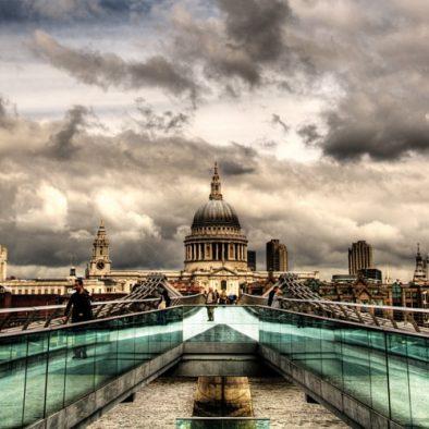 St Paul's and Millennium Bridge London Photo Walks