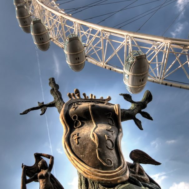 LONDON EYE AND DALI LONDON PHOTO WALKS