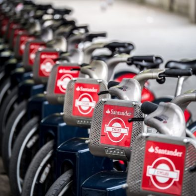 Boris Bikes London photo Walks