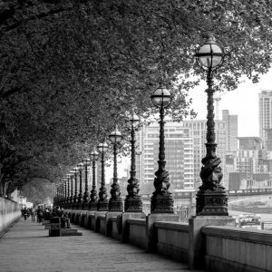 Queen's Walk Embankment London Photo Walk