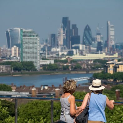 View from the Royal Observatory Greenwich London Photo Walks