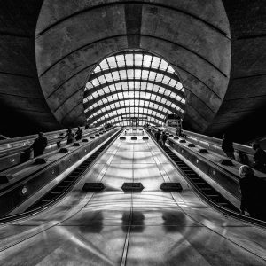 Canary Wharf Station London Photo Walks