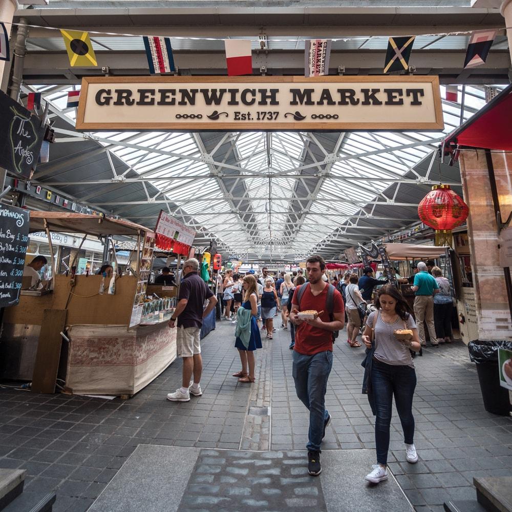 Greenwich Market London photo Walks