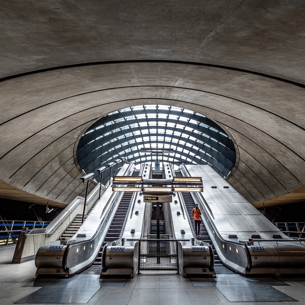 Canary Wharf Station London Photo Walks