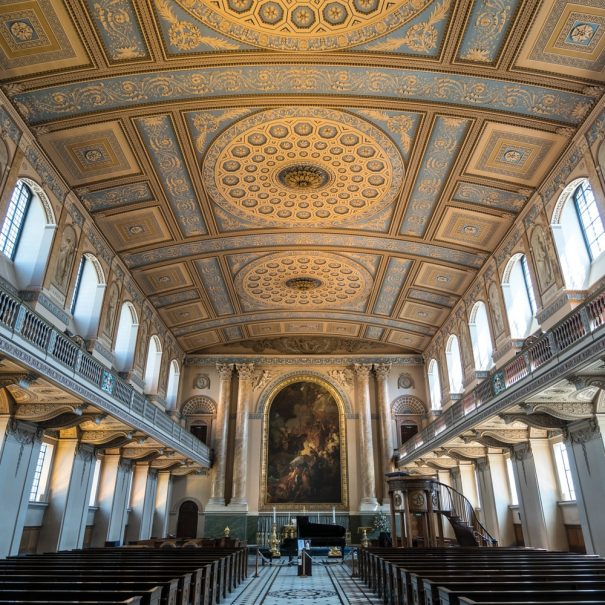 Royal Navel College Chapel London Photo Walks
