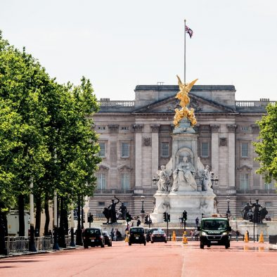 Buckingham Palace and The Mall London photo Walks