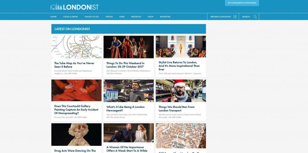 Londonist Website