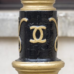 Coco Chanel Westminster lampposts
