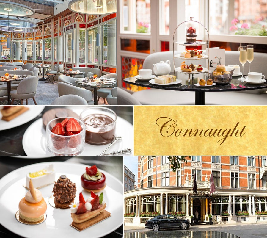 Afternoon tea at The Connaught