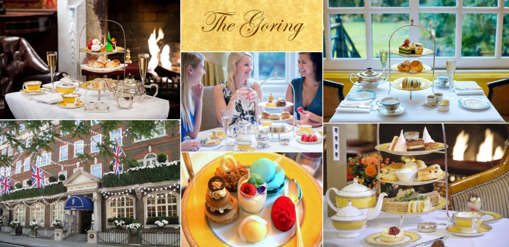 Afternoon tea at The Goring