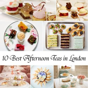 10 best traditional afternoon teas in London