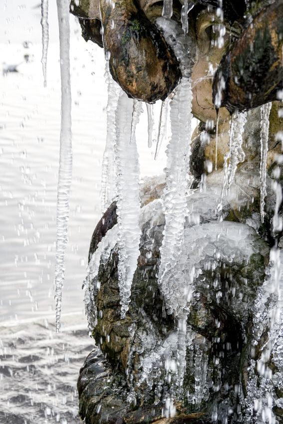 Fountain in the Italian Garden Hyde Park