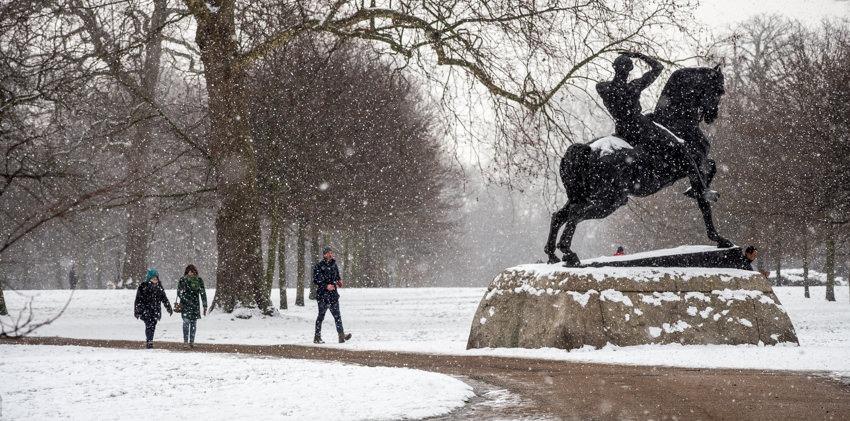 Physical Energy statue Kensington Gardens