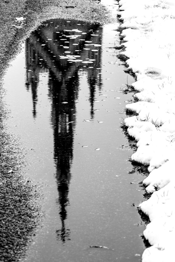 Reflection of the Albert Memorial Hyde Park
