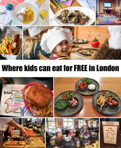Where kids can eat for FREE in London