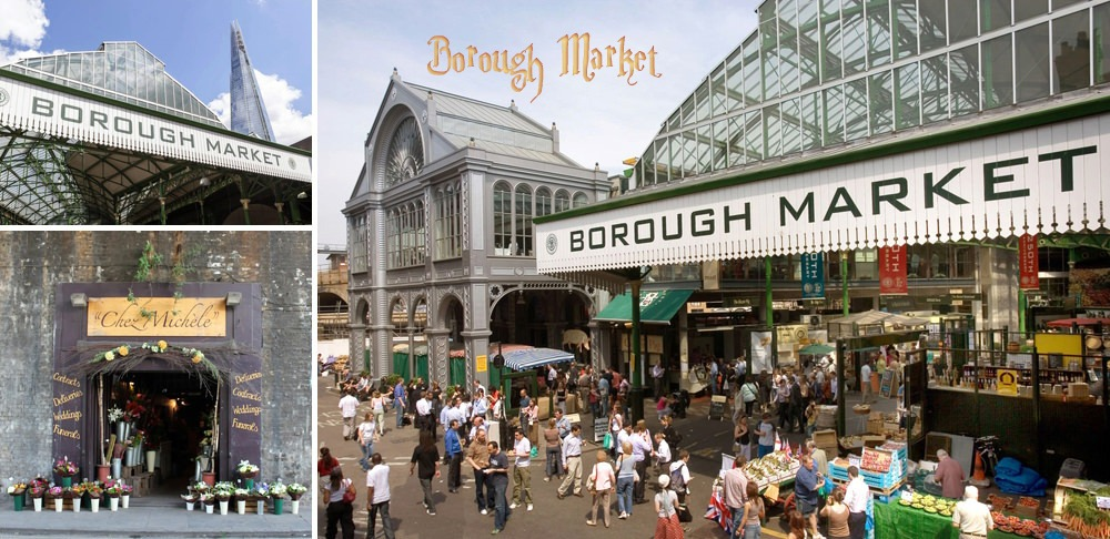 Harry Potter Borough Market Filming Location
