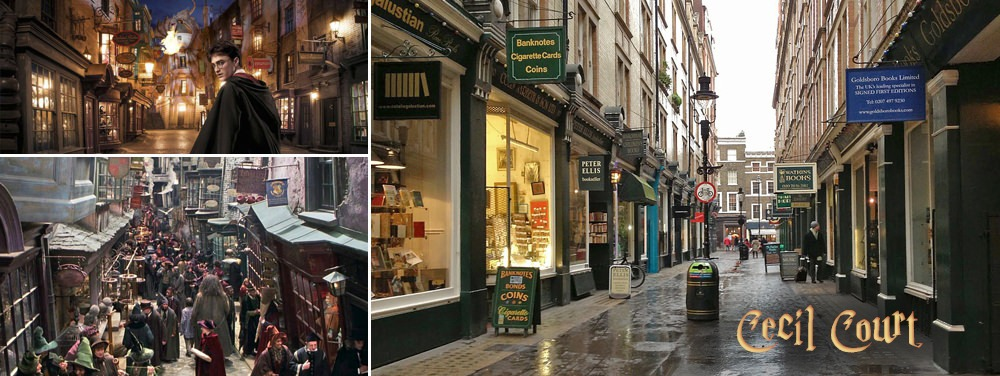 Harry Potter Cecil Court Filming Location