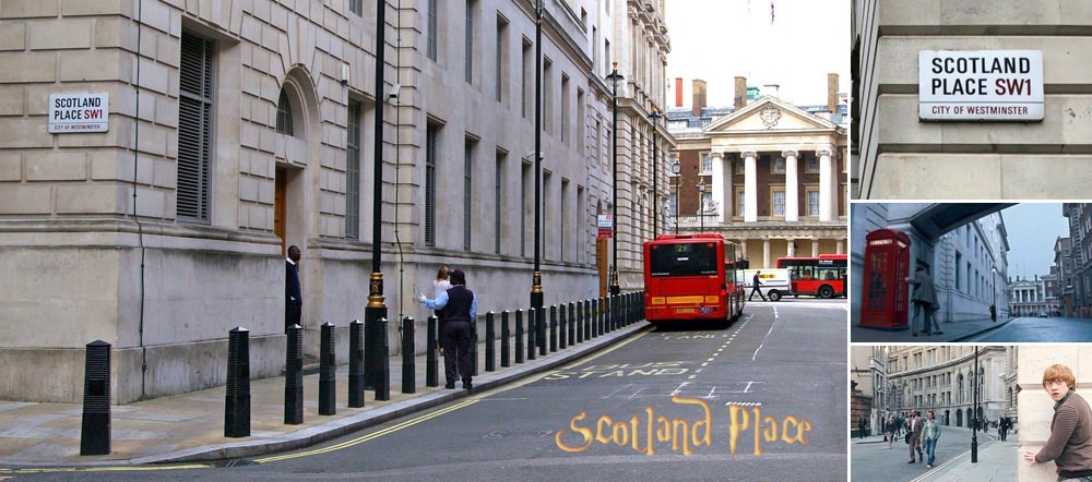 Harry Potter Scotland Yard Filming location
