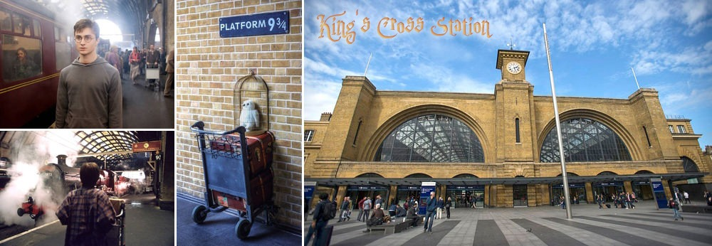 Harry Potter King's Cross Station Hogwarts Express
