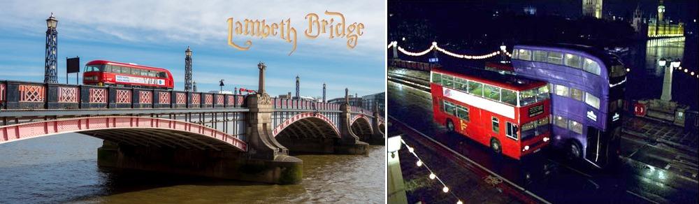 Harry Potter Lambeth Bridge filming location