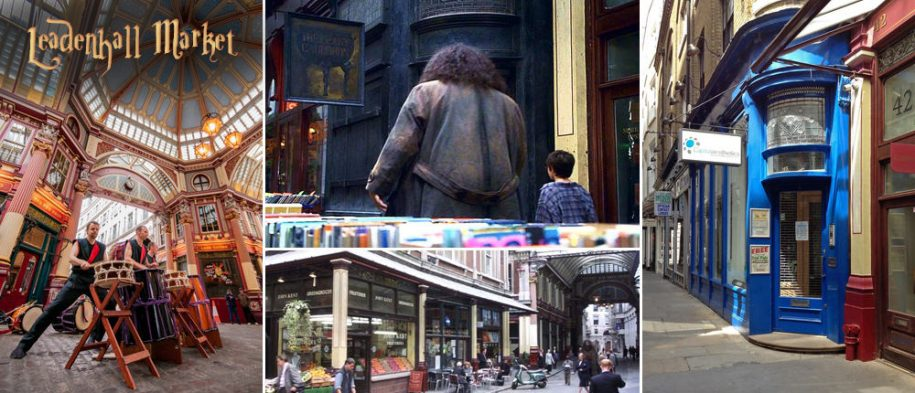 Harry Potter Leadenhall Market Filming Location