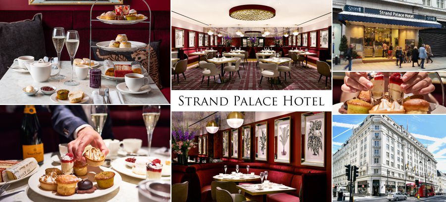 Strand Palace Hotel afternoon tea