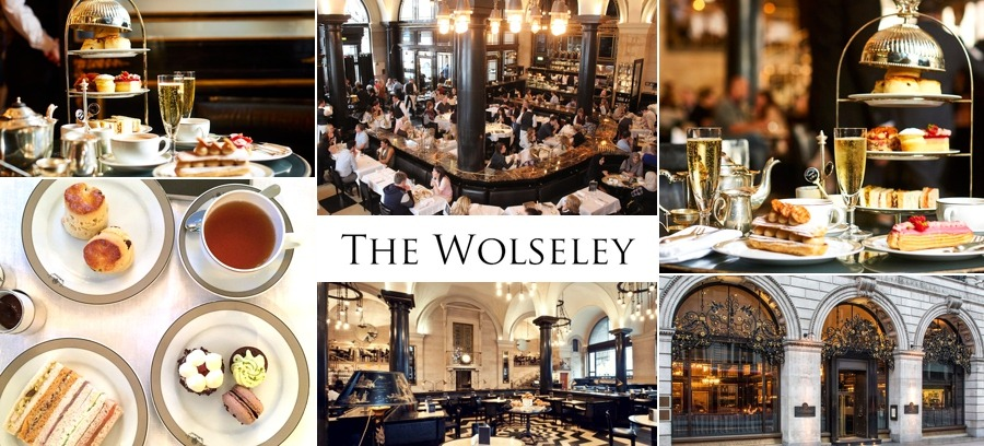 The Wolseley restaurant afternoon tea