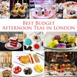 BEST BUDGET AFTERNOON TEAS IN LONDON