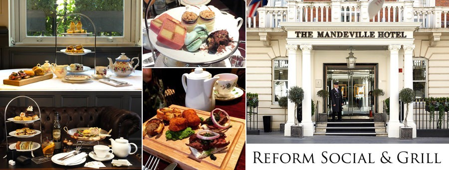 Reform Social & Grill Afternoon Tea