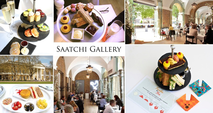Saatchi Gallery Afternoon Tea