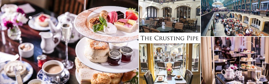 The Crusting Pipe Afternoon Tea