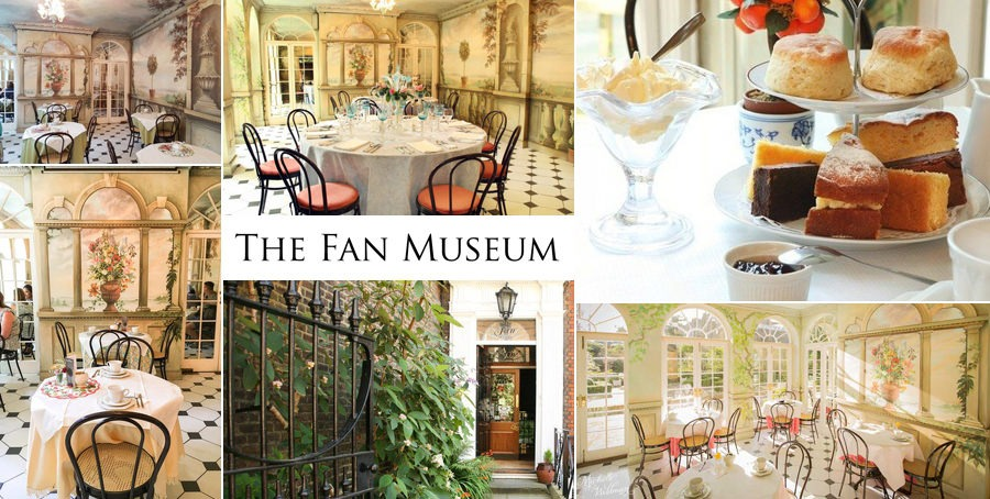 The Fan Museum Afternoon Tea