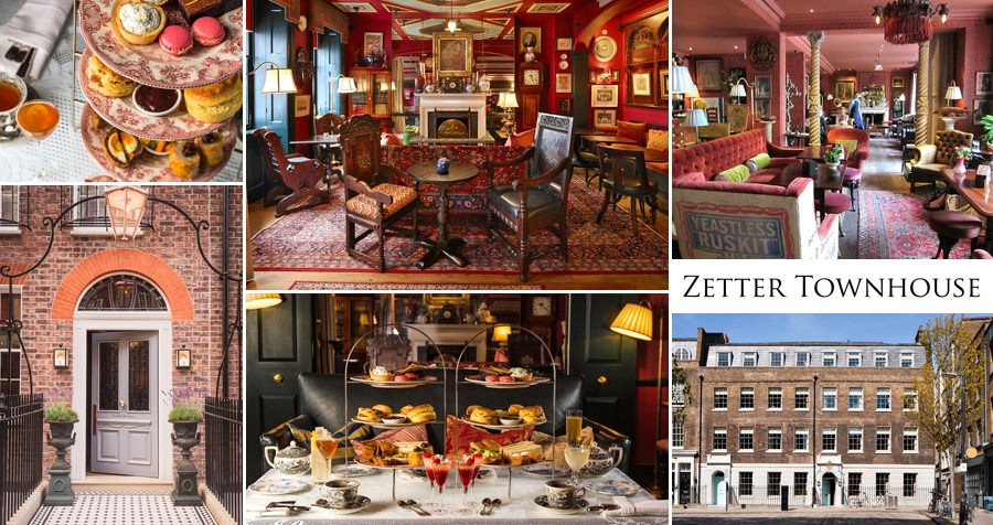 Zetter Townhouse Afternoon Tea