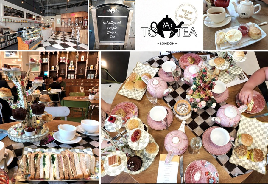 To A Tea Afternoon Tea in London