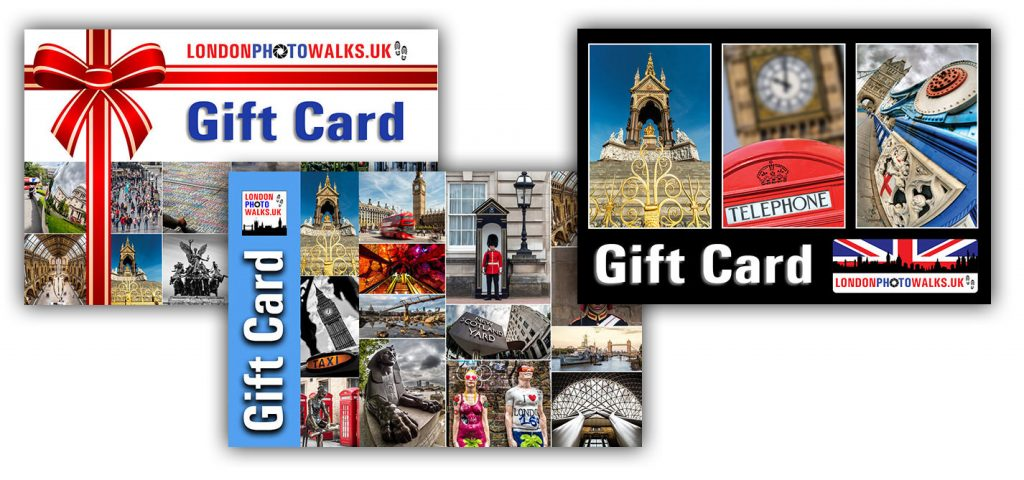 London Photo Walks Gift Cards