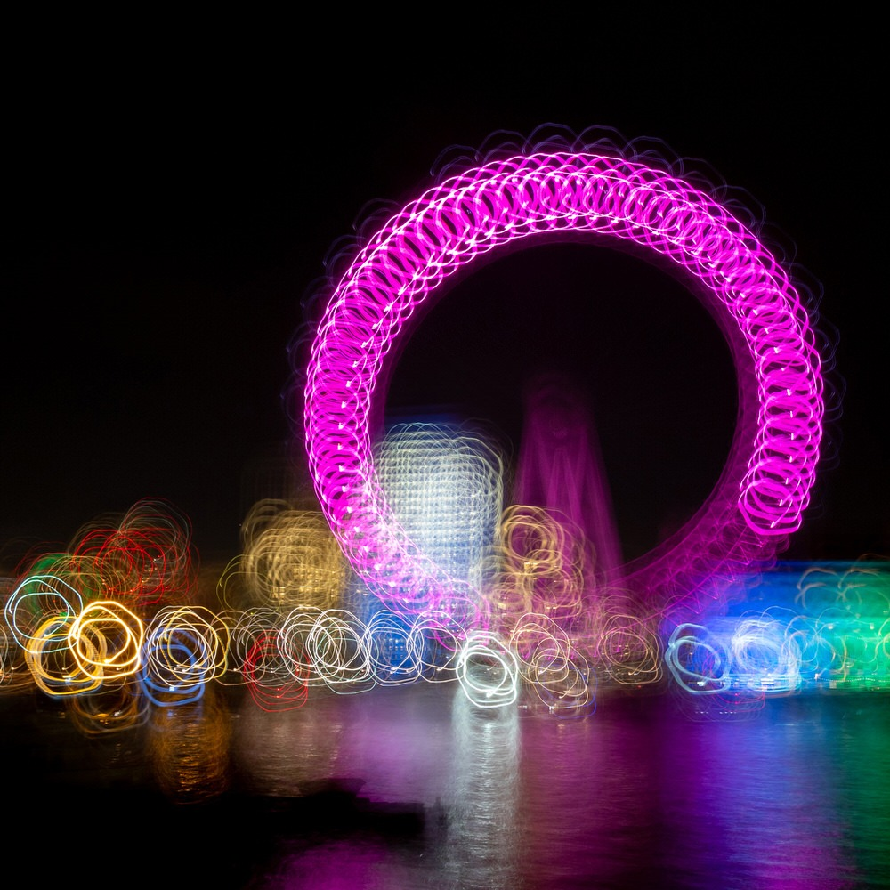 The London Eye and camera movement